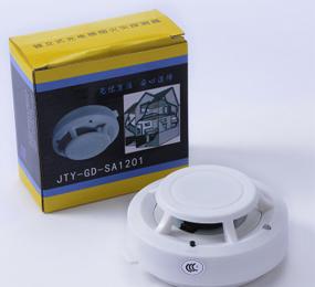 安吉斯独立式光电感烟火灾探测器 烟感报警器